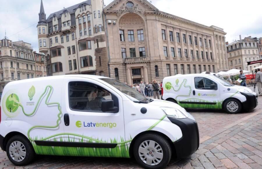 Latvenergo elektromobiļi