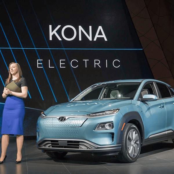 Hyundai Kona baterijas