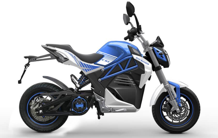 CSC City Slicker elektriskais motocikls