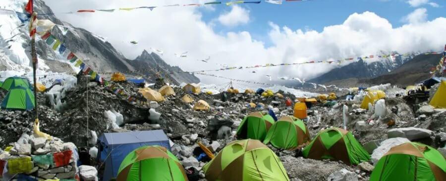 Everests - atkritumi
