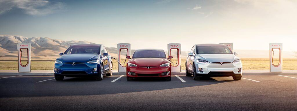Teslas pie Supercharger