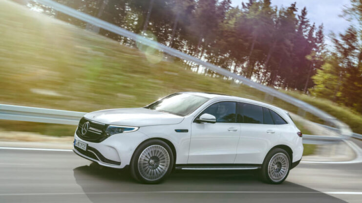 Mercedes-Benz EQC pirmais testa brauciens 9