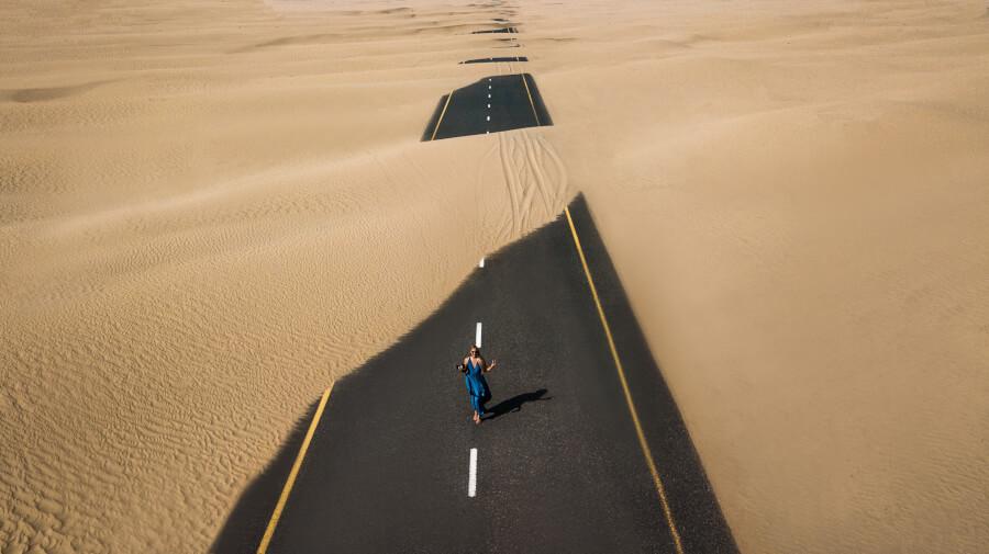 tuksnesis ceļš