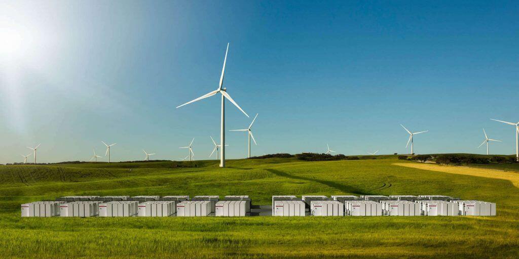 Austrālijas Tesla Powerpack