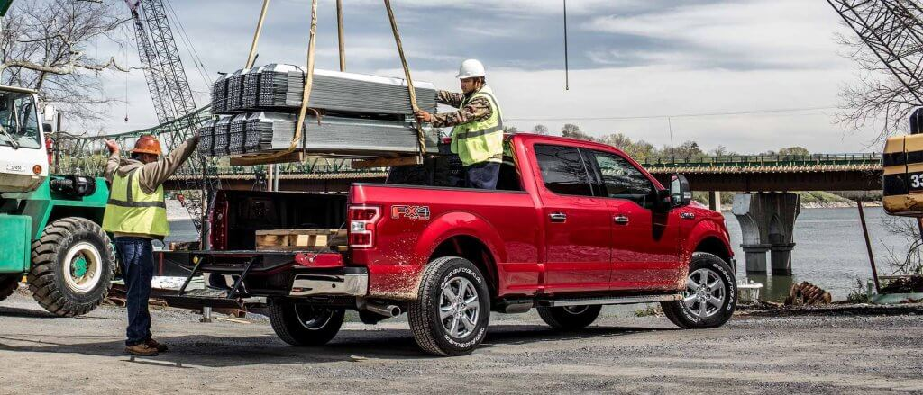 Ford F-150 celtniecībā