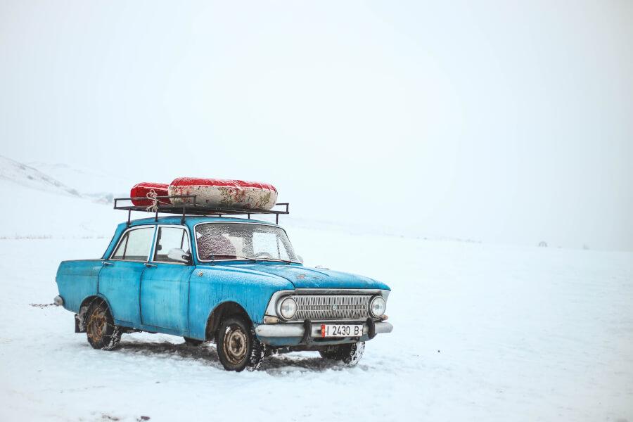 Piedzīvojumi ziemā