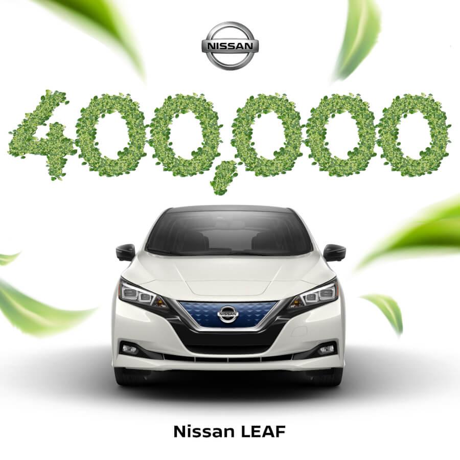400000 pārdoti Leaf