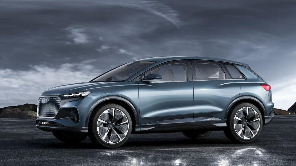 Audi Q4 e-tron koncepts