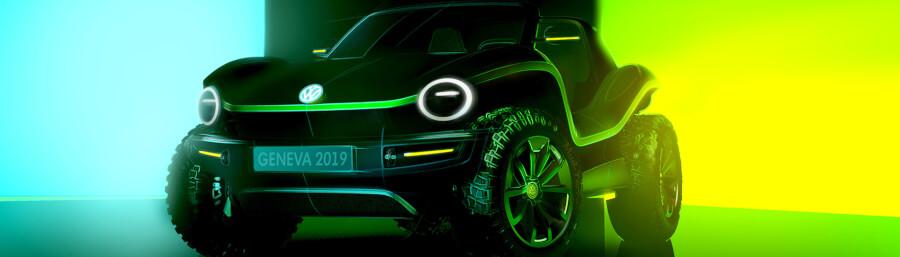 VW I. D. Buggy koncepts