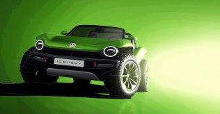 Volkswagen I.D. Buggy - elektromobilis, kas gatavs kāpām 11
