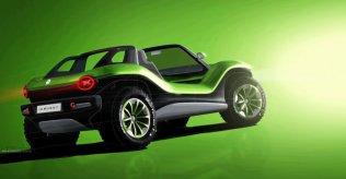 Volkswagen I.D. Buggy - elektromobilis, kas gatavs kāpām 10