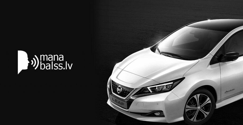 Mana balss Nissan Leaf
