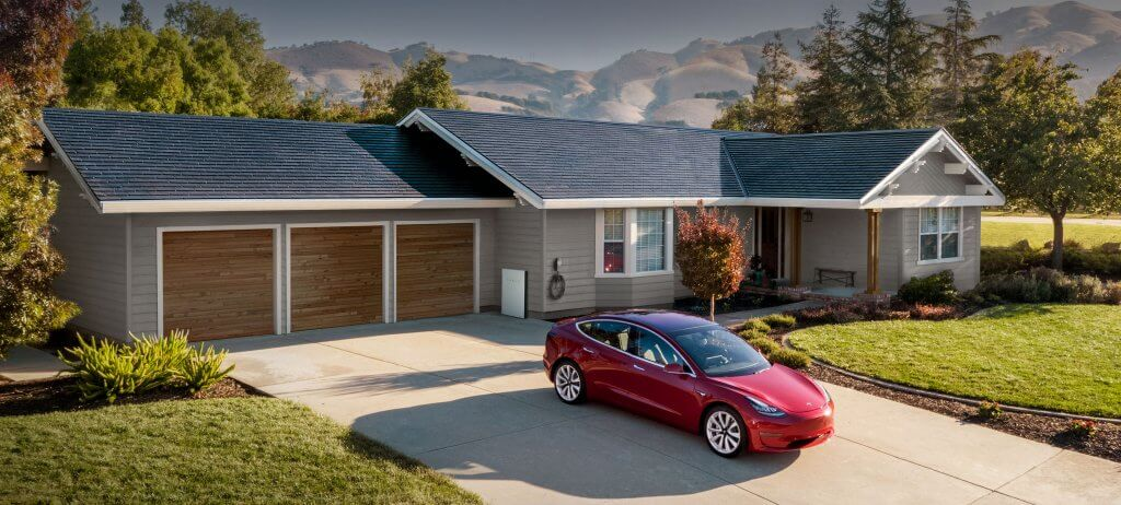 Tesla Solar Roof, Powerwall un Model 3