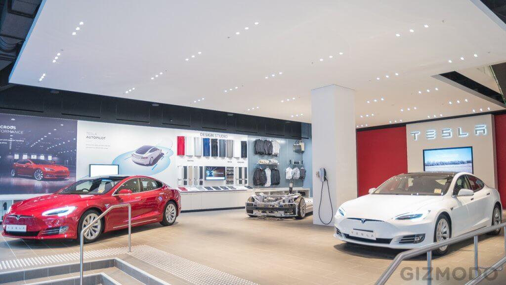 Tesla veikals Austrālijā