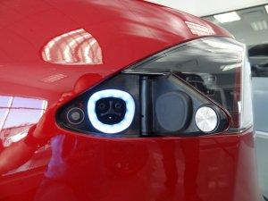 Tesla Model S uzlādes ligzda ASV