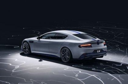 Elektriskais Aston Martin ir prezentēts 1