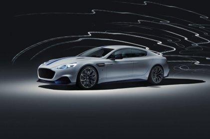 Elektriskais Aston Martin ir prezentēts 6