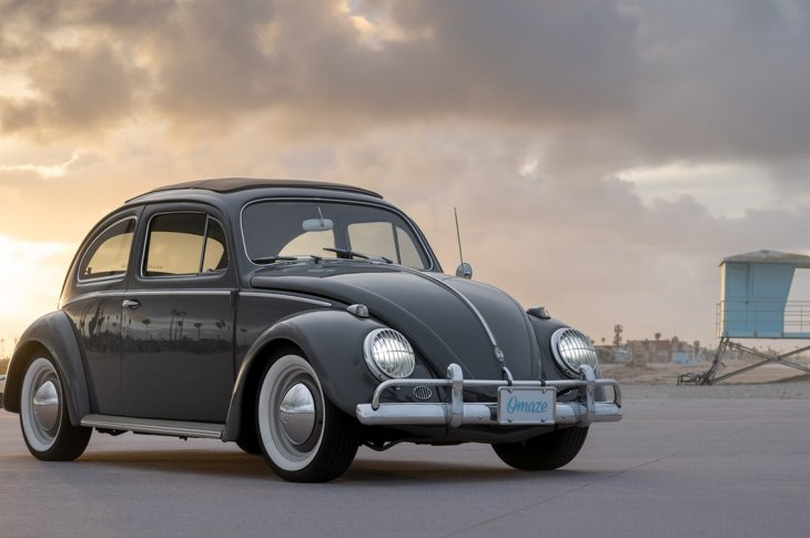 Elektriskā VW Bug no Zelectric un Omze