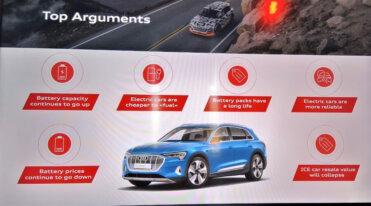 Audi e-tron pasākuma apskats 3