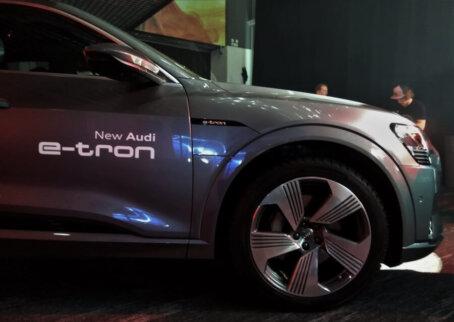 Audi e-tron pasākuma apskats 25