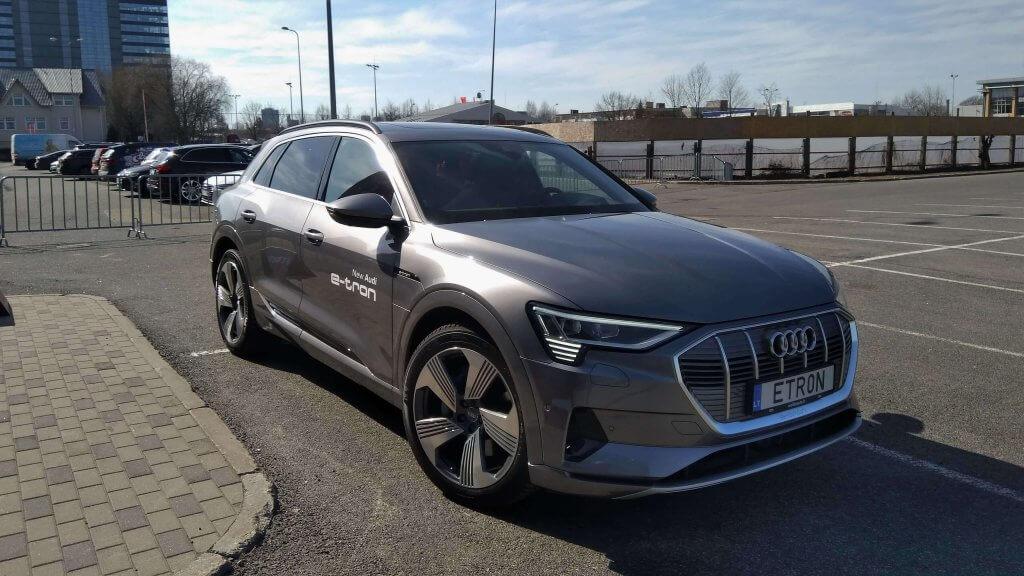 Audi e-tron prezentācija