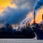 Gaisa piesārņojums ostā