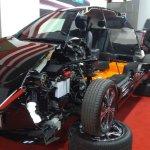 Sagraizīts Nissan Leaf