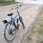 Mārtiņa Zālīša paštaisītais elektriskais velosipēds