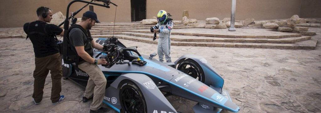 Formula E filmēšana