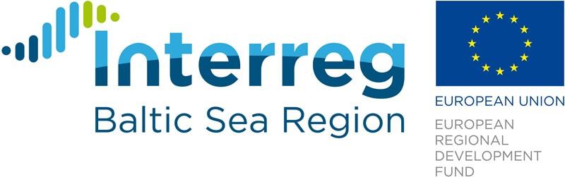 Interreg bsr un ERAF logo