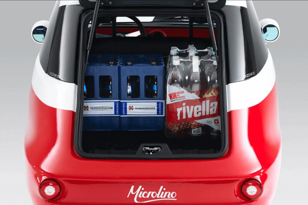 Microlino bagāžnieks