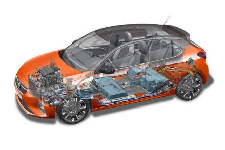 Opel atklāj elektrisko Corsa versiju 13