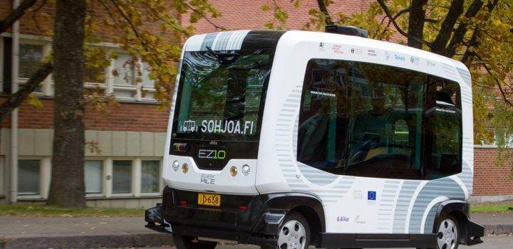 Sohjoa EZ10 bezpilota autobuss