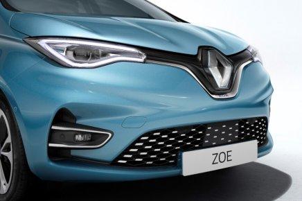 Jaunā Renault Zoe Z.E. 50 6