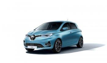 Jaunā Renault Zoe Z.E. 50 10