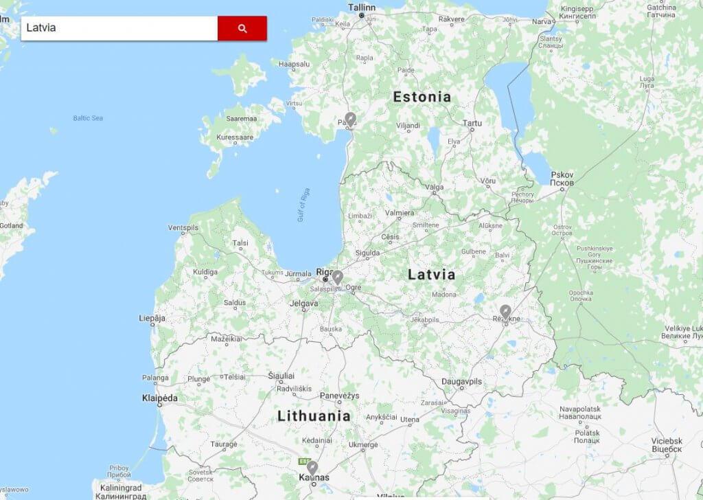 Tesla Supercharger tīkls Baltijas valstīs
