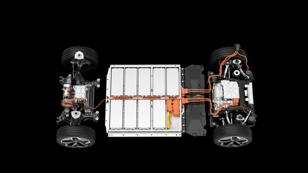 VW ID.3 baterija MEB