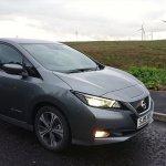 Nissan Leaf pie VES parka