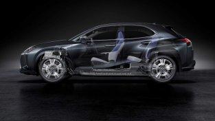 Lexus ar gariem zobiem izlaiž elektroauto 9