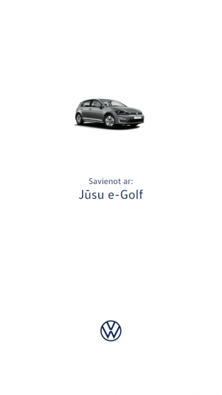 Volkswagen e-Golf apskats (+video) 1