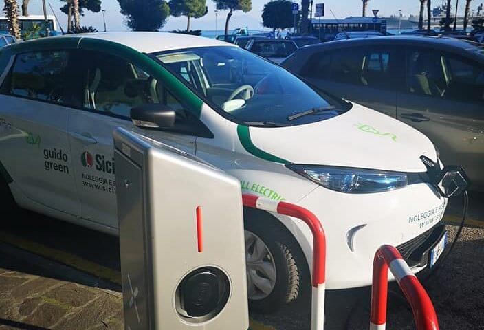 Renault Zoe uzlāde Itālijā