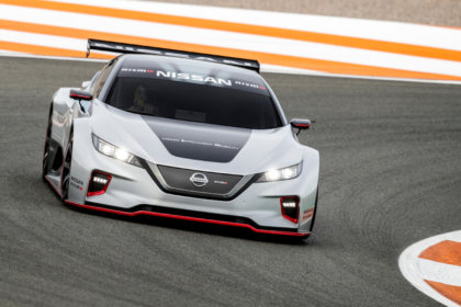 Nissan prezentē jaudīgāko LEAF - NISMO RC 9