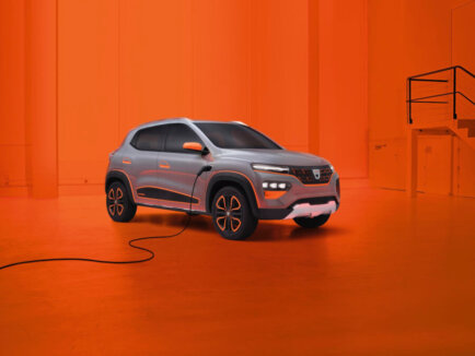 Dacia elektroauto rEVolūcija - Spring Electric 1