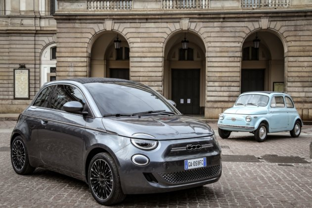 "Fiat 500 ""la Prima"" - pilsētas elektroauto ar šiku 11"