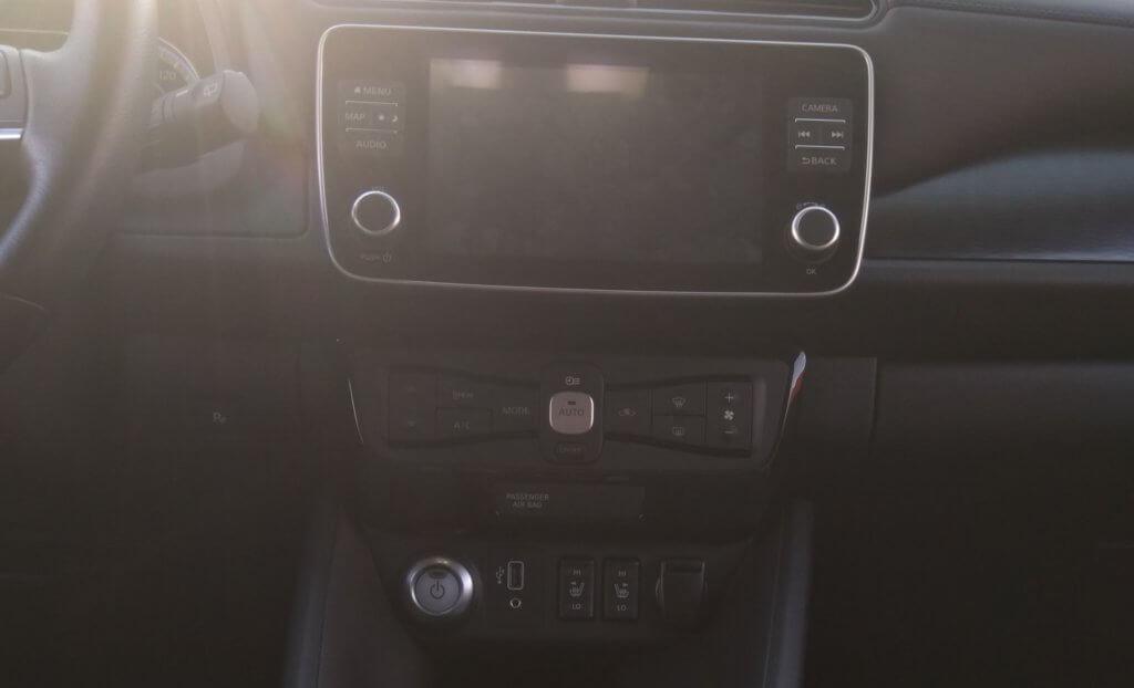 Nissan Leaf e+ rīku panelis
