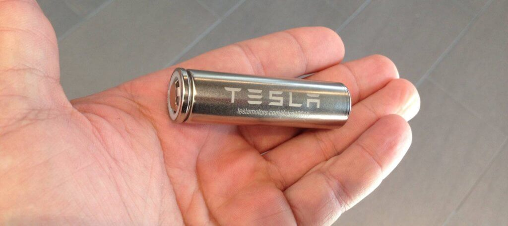 Tesla bateriju elements