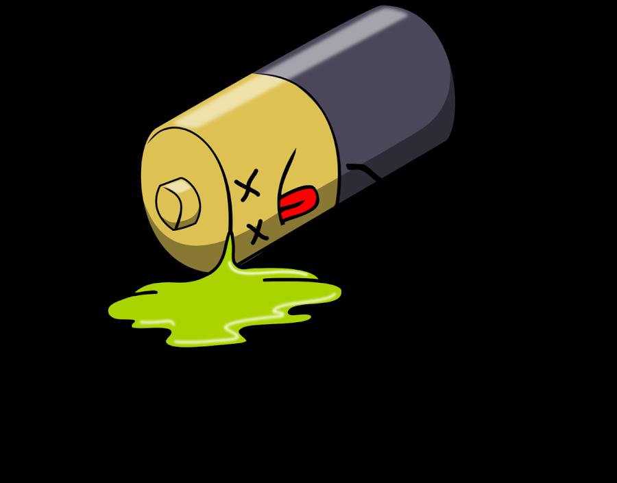 Beigta baterija