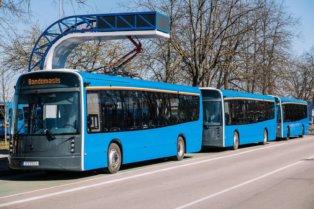Klaipēdā sāk kursēt Lietuvā taisīti elektriskie autobusi 7