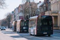 Klaipēdā sāk kursēt Lietuvā taisīti elektriskie autobusi 4