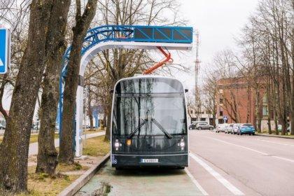 Klaipēdā sāk kursēt Lietuvā taisīti elektriskie autobusi 1
